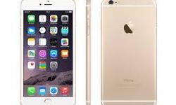 New i-Phone 6, 16 gig, on telus. Never used. It is gold in color and comes with a gold speckled see-through case, new earphones, and new charger cable and wall charger. I just upgraded into an iPhone 7. This phone retails for $784 + taxes on telus (with