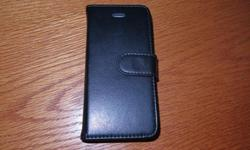 Never damaged. Glass screen never damaged. Leather cover with magnetic closing strap Unlocked --no contract etc. Cleaned of information Comes with charger and cord.