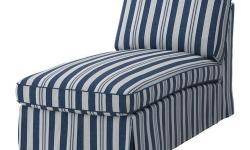 Ikea EKTORP Free-Standing Chaise Lounge Cover - Abyn Blue - brand new in package - $150 firm (Slipcover only, no chaise lounge) CARE INSTRUCTIONS: Machine wash ,hot 140°F (60°C). To be washed separately. Do not bleach. Do not tumble dry. Iron, high