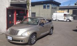 Make Chrysler Colour Champagne Trans Automatic kms 42000 This is THE car you want for SUMMER! Originally from the Lower Mainland, never winter driven and always garage stored; it doesn't know snow! 2.4L, 4 cyl engine, leather, heated seats, auto windows,