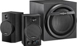 Immerse yourself in your favorite tunes with this Insignia NS-PSB4521 speaker system that features 2 satellite speakers and a subwoofer for crisp high notes and booming bass. Bluetooth 3.0 technology allows you to pair up to 8 devices. Product Features