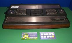 Item: We have the original Intellivision in stock . This unit has slight bubbling that can be noticed in the photo. However the unit and controllers are all in good working order. This bundle comes with everything you need to get started for $80.00. We