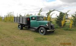 1935 International one and a half ton.  Beautiful original truck.  If interested call Terry @ 780-814-1117.