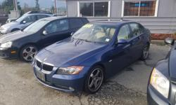 Make BMW Model 325i Year 2006 Colour BLUE Trans Automatic EXTREMELY CLEAN and SUPER SPORTY!! Includes leather, alloys ect ect. NOTHING drives like a BMW!! INCLUDES EXTENDED WARRANTY!! FINANCING AVAILABLE!! Find you nest great deal at islandautopros.com