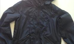 Light weight Ivivva coat. My daughter who's 9 has just recently outgrown this coat. She's had it for a few years and it's still in great shape.