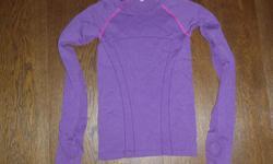 Ivivva Purple Long Sleeve,great shape, size medium