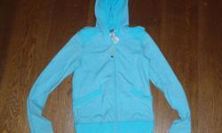 Ivivva Zip Hoodie,great shape,turquoise zip hoodie size 10 $30.00, pink reversible zip hoodie $35.00