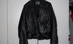I have I leather jacket for sale bought in uk $60.00 firm call Paul 1-250-735-1917 size 40 like new wore 1or twice will not me disappointed I do come down to vic offen