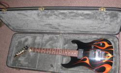 """Jackson JS30DK Dinky Electric Guitar Custom paint job have concept pictures and everything to prove it. Kustom Dual 30RC 30W 1x10"""" amp Guitar Stand and Case. Great gift for the holidays message me with an offer."""