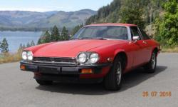 Make Jaguar Model XJS Year 1976 Colour Red kms 96000 Trans Automatic 76 Jaguar XJ-S V12 Automatic (Jaguar used GM turbo hydromatic 400 under licence) under 60,000 Original Miles. 4 new Michelin Tires with less than 1000 miles on them. New 2.5 inch Kessler