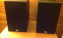 Jbl loft 30 bookshelf speakers. In excellent condition. Great sound from a compact speaker! These are current model at Best Buy for $249 retail. Asking $90