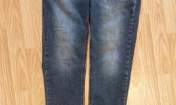 jeans with elastic cuff bottoms size 30 Mens fits Boys age 12-14 Slim soft and comfortable & they move with you by Empyre Surplus Co 77% cotton 21% polyester 2% elastane Almost New only worn a couple of times before they were outgrown excellent condition