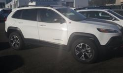 Make Jeep Model Cherokee Year 2015 Colour White kms 12000 Trans Automatic The off-road capable Compact SUV - nothing compares to the Jeep Cherokee Trailhawk! Class leading trail rated off road ability combined with superior on road driving performance