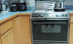 Good working condition including grill & BBQ features.