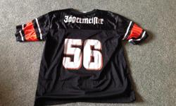 """Like new... JERSEY size XL """"Jaegermeister"""" logo Fun to wear to GAMES and PUB... Cheaper than a T short..."""