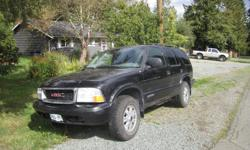 Make Chevrolet Model Blazer Year 2003 Colour black Trans Automatic $2800 obo Everything works home on fridays four doors power windows good tires great in snow has tow package need gone need room in yard