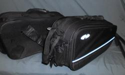 JOE ROCKET MATCHING SOFT LUGGAGE Includes saddlebags , tank bag , and tail bag. I have used these on two occasions. They are in new condition. Comes with assorted straps and fasteners. Great for sport bikes or naked bikes.