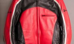 Joe Rocket Leather Jacket for Woman. Size: XL in like new condition. Includes liner for colder days.