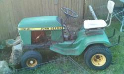 John Deere ride on mower thrown rod $75 obo. Worth more than $75 in parts.