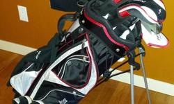 If you have a young teen interested in golf we have a nice quality barely used set for sale. The clubs are Power Bilt with carrying bag. Included are a size 9 Callaway golf shoe, two golf shirts and some practice balls as well as 70 or so regular golf