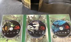 We are downsizing our massive collection. For sale is a 3-movie set of Jurassic Park in a souvenir box. $10 for all three movies. Please check out our other groups for more movies/tv shows. There are many, many more for sale.