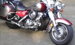 2007 Kawasaki Nomad. 14,400k. All service up to date. Bike always stored indoors. Shows as new. After riding since 1969 and having owned 23 new bikes and several pre-owned this is definitely the most comfortable & fun two up machine. It is a trouble free,