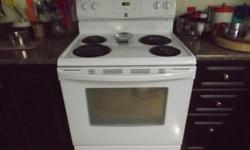 "White 30"" Kenmore self-clean stove 3 years old, in like new condition Phone only NO E-MAILS please"
