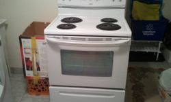 Barely used oven that we don't need. Approximately 2.8 cubic feet. $130 FIRM. Dimensions are: W: 78.7cm H: 122cm D: 66cm D with door open: 114.3cm