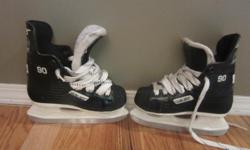 Bauer Junior Supreme hockey skates. Size 11 boys