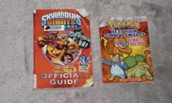 $1 each Skylanders Giants - Official Guide Pokemon - Test your Sinnoh Smarts - Ultimate Quiz Book The Demonta Vol 3 & 4, Slawter & Bec Goosebumps - A night in terror tower Dragon Breath - Lair of the bat monster Zombiekins The ring of five dragons