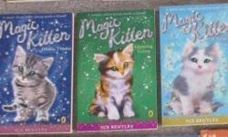 NOW each book $1 Magic Kitten - double trouble Magic Kitten - A glittering gallop Magic kitten - a splash of forever How to train your dragon Choose your own nightmare - It happened at camp pine tree Freddy Funster's Circus - Precious Potter - The