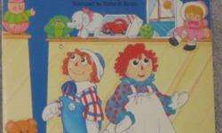 Raggedy Ann & Andy's Department store caper (1988) - $4 **Disney Books have 96 pages** Hercules Aladdin Mickey's Christmas Carol Great Mouse Detective Oliver & Company Rescuers Down under Mulan Aristocats The muppets take manhattan (1984) - $4 Muppets -