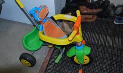 Kids Steer & Stroll Trike