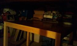 I have a table I no longer need that is just taking up space in my basement so make me an offer!!
