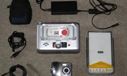 Kodak Easy Share Digital Camera. 4.0 MP  , comes with printer and docking station. Camera case , memory card, and all cables. camera works great and prints amazing pics.