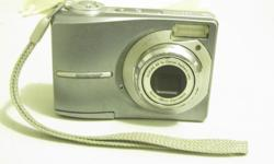 KODAK EASY SHARE C813 DIGITAL POCKET CAMERA. OLDIE BUT GREAT FOR KIDS FIRST DIGITAL CAMERA. COMES WITH BATTERIES AND SD CARD. OUTSIDE SHOWS WEAR BUT STILL TAKES GOOD PICTURES . CONTACT PHONE