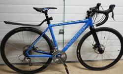 Kona Jake Cyclocross Bike 49CM, perfect condition. Matt Blue/ Black