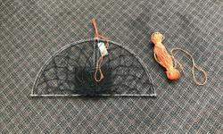 Looking for a quick and easy way to catch some crab dinner? well come by and check out these simple lightweight casting crab traps. Compact and easy to throw or cast out. Kufa Casting Crab Traps - This trap can be cast by hand or with use of a fishing