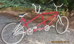 Kuwahara Tandem Bike in good condition . Six speed.See picture.125 OBO
