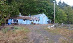 # Bath 1 Sq Ft 1937 MLS 369639 # Bed 3 Large 4.27 acre parcel situated in the Humpback area of Langford, only 10 minutes to the Westshore Mall with all major amenities close by. The property runs along Sooke Rd and has two access points. The main house is