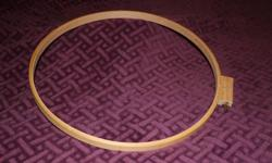 """NEW 18"""" QUILTING FRAME OR HOOP. Never used."""