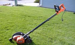 Black & Decker lawn edger Little used