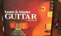 LEARN GUITAR IN THE COMFORT OF YOUR OWN HOME. SET INCLUDES 20 INSTRUCTIONAL DISCS, BONUS WORKSHOP,JAM ALONG CDS, EXPANDED EDITION. ALL IN EXCELLENT CONDITION IN BOX. SELLS FOR 350.00 REGULAR GREAT DEAL AT 150.00