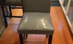 Perfect condition, two counter chairs for $150.00.