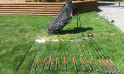 Left handed clubs used in good condition. Asking $200.