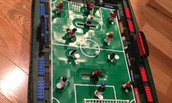 This is a LEGO Sports Set #3569 called the Grand Soccer Stadium. This 2006 LEGO set has been prebuilt to confirm over 300 pieces. There are 10 mini figures included, but a couple of figures are missing. Measures 57cm x 38 cm x 8cm. Instructions available