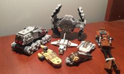 This is a selection of genuine LEGO Star Wars space ships. A random collection of different LEGO Star Wars LEGO ships. All in excellent condition and clean. Combined price for all. From a non pet and non smoker household. Cross posted