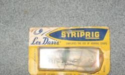 Les Davis Striprig trolling fishing Salmon lure herring . Steve 250-479-8348