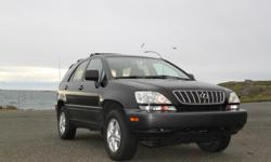 Make Lexus Model RX300 Year 2002 Colour Black kms 167000 Trans Automatic Lexus RX 300 AWD. Well equipped with Heated power leather seats, Power tilt moonroof, Lexus premium sound system, Power windows, locks, etc. The Lexus is up to date on all its