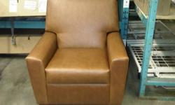 Electric Lift Chair, Brown Faux Leather, Select Cherry Legs - Model CSF7100 Sample Unit - Like New Condition! $425 OBO